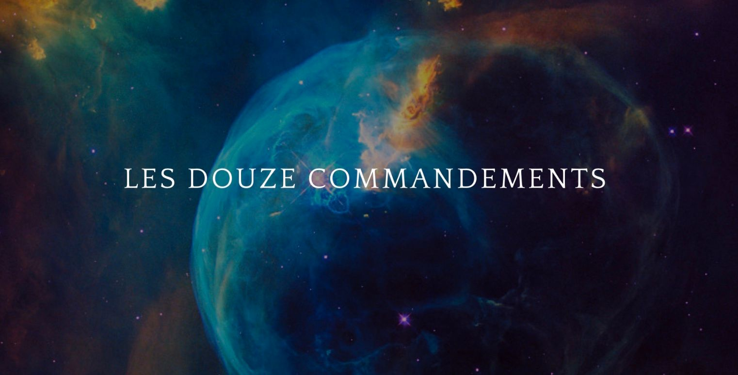 Kc25 Les Douze commandements de l'impression additive... Partie 1
